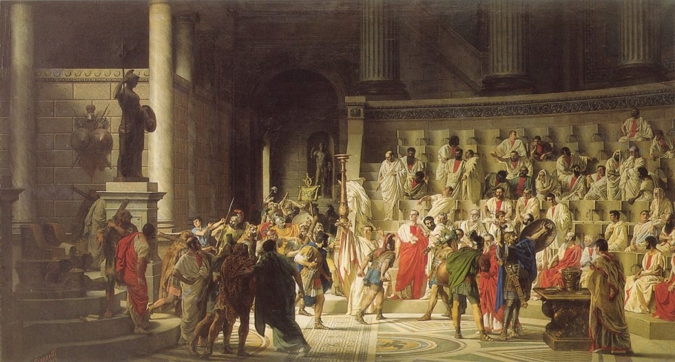 Caesar Life of a Colossus - Senate of Rome